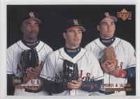 Garret Anderson, Tim Salmon, Jim Edmonds