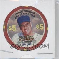 1997-98 Fiesta Casino $5 Poker Chips - [Base] #DUSN - Duke Snider