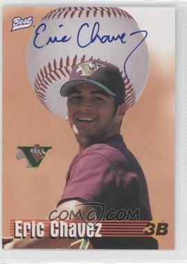 1997 Best Autograph Series - Limited Autographs #ERCH - Eric Chavez /250