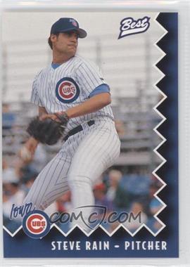 1997 Best Iowa Cubs - [Base] #23 - Steve Rain