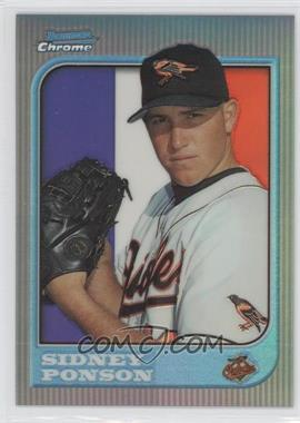 1997 Bowman Chrome - [Base] - International Refractor #102 - Sidney Ponson