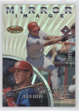 1997 Bowman's Best Mirror Image Refractor #MI4 - [Missing]