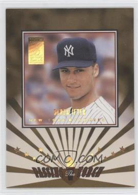 1997 Donruss Elite Passing the Torch #11 - Derek Jeter /1500