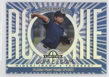 1997 Donruss Limited Limited Exposure #121 - Hideki Irabu, Greg Maddux