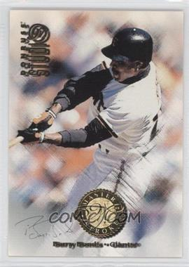 1997 Donruss Studio Master Strokes #4 - Barry Bonds /2000
