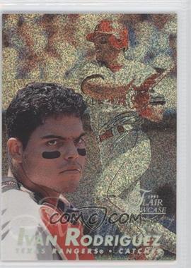 1997 Flair Showcase - [Base] - Row 0 #57 - Ivan Rodriguez