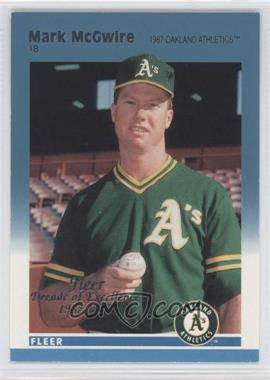 1997 Fleer Decade of Excellence Rare Traditions #7 - Mark McGwire