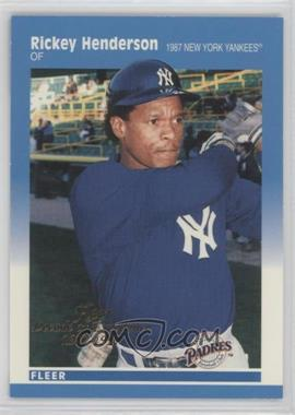 1997 Fleer Decade of Excellence #5 - Rickey Henderson