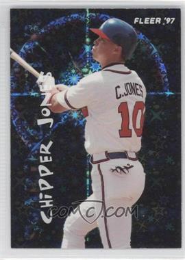 1997 Fleer Soaring Stars #7 - Chipper Jones