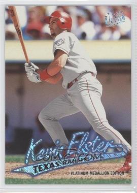 1997 Fleer Ultra - [Base] - Platinum Medallion Edition #P131 - Kevin Elster