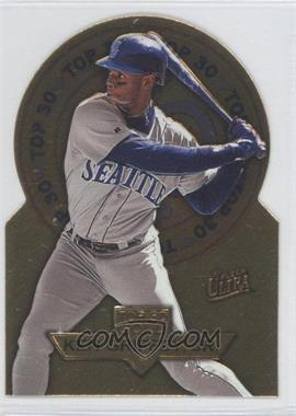 1997 Fleer Ultra - Top 30 - Gold Die-Cut #2 - Ken Griffey Jr.