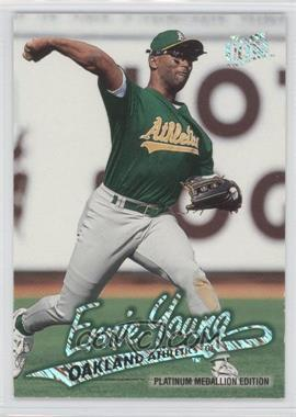 1997 Fleer Ultra Platinum Medallion Edition #P118 - Ernie Young