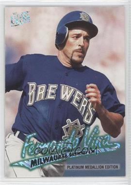 1997 Fleer Ultra Platinum Medallion Edition #P84 - Fernando Vina