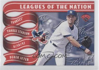 1997 Leaf Leagues of the Nation #4 - Derek Jeter /2500