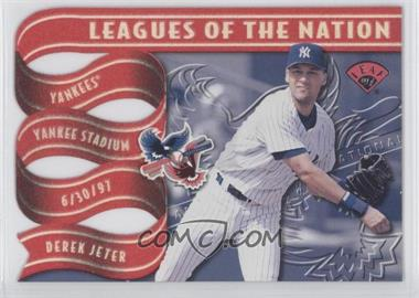 1997 Leaf Leagues of the Nation #4 - Derek Jeter /2500