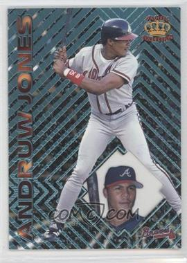 1997 Pacific Crown Collection Prism - [Base] - Light Blue #78 - Andruw Jones
