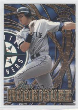1997 Pacific Crown Collection Prism - Sluggers & Hurlers #SH-7A - Alex Rodriguez