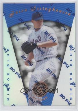 1997 Pinnacle Certified Mirror Blue #105 - Jason Isringhausen