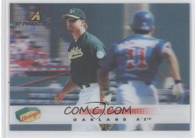 1997 Pinnacle Denny's 3D Holographic #10 - Mark McGwire