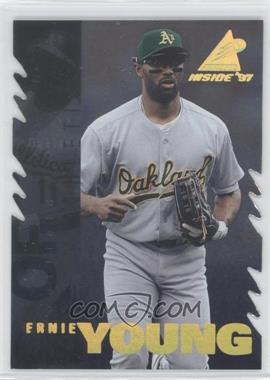 1997 Pinnacle Inside - [Base] - Diamond Edition #33 - Ernie Young