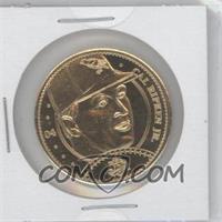 1997 Pinnacle Mint Collection Coins Gold Plated Brass #04 - Cal Ripken Jr.
