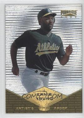 1997 Pinnacle Museum Collection Artist's Proof #75 - Ernie Young