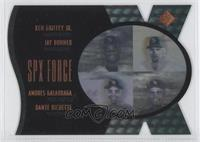 Jay Buhner, Andres Galarraga, Dante Bichette, Ken Griffey Jr. /500