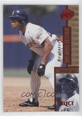 1997 Select [???] #50 - Rickey Henderson