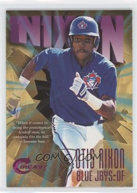 1997 Skybox Circa Rave #320 - Otis Nixon /150
