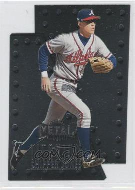 1997 Skybox Metal Universe Titanium #4 - Chipper Jones