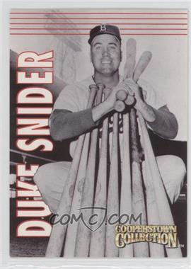 1997 Starting Lineup Cards Cooperstown Collection #4 - Duke Snider
