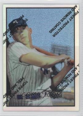 1997 Topps - Mickey Mantle Reprints - Finest Refractors #22 - Mickey Mantle (1953 Bowman)