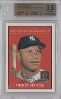Mickey Mantle (1961 Topps) [BGS 9.5]