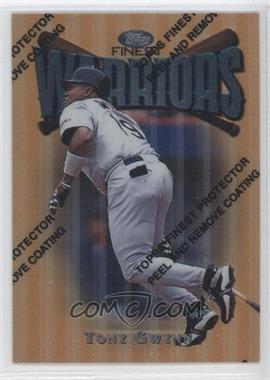 1997 Topps Finest - [Base] #169 - Tony Gwynn
