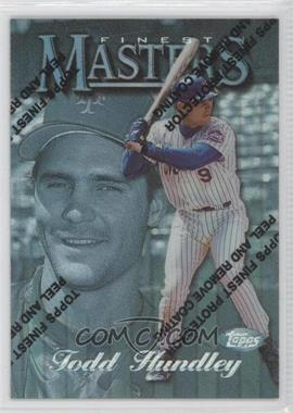1997 Topps Finest Refractor #324 - Todd Hundley
