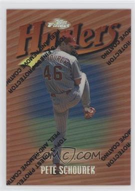 1997 Topps Finest Refractor #49 - Pete Schourek