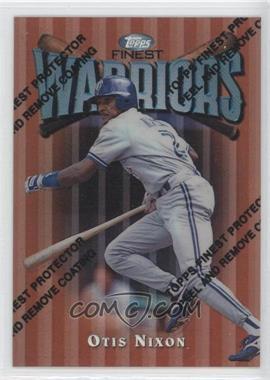 1997 Topps Finest Refractor #8 - Otis Nixon