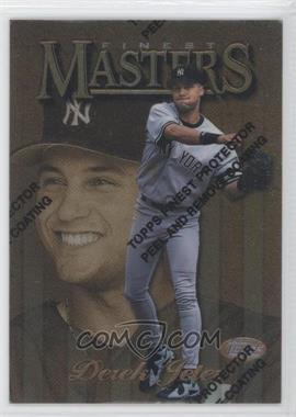 1997 Topps Finest #166 - Derek Jeter