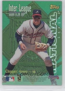 1997 Topps Inter-League Match-Ups Refractors #ILM13 - Mo Vaughn, Chipper Jones