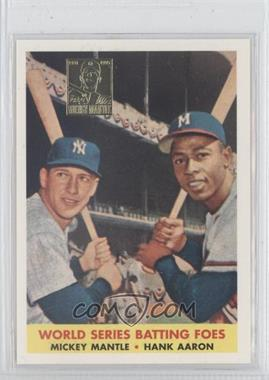 1997 Topps Mickey Mantle Reprints Factory Set #24 - Mickey Mantle