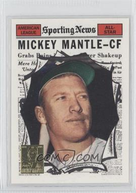 1997 Topps Mickey Mantle Reprints Factory Set #32 - Mickey Mantle