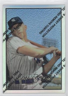 1997 Topps Mickey Mantle Reprints Finest Refractors #22 - Mickey Mantle (1953 Bowman)