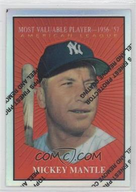 1997 Topps Mickey Mantle Reprints Finest Refractors #31 - Mickey Mantle (1960 Topps)