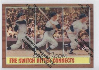 1997 Topps Mickey Mantle Reprints Finest Refractors #34 - Mickey Mantle (1962 Topps)