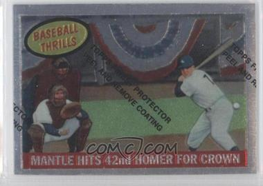 1997 Topps Mickey Mantle Reprints Finest #26 - Mickey Mantle (1959 Topps)