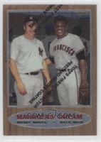 Mickey Mantle, Willie Mays 1962 Topps