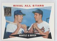 Mickey Mantle, Ken Boyer (1960 Topps)