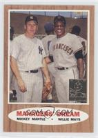 Mickey Mantle, Willie Mays (1962 Topps)