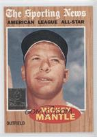 Mickey Mantle 1962 Topps