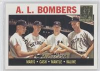 Roger Maris, Norm Cash, Mickey Mantle, Al Kaline 1964 Topps